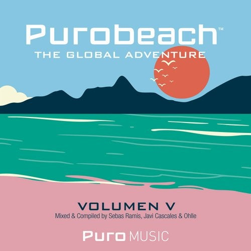 Cover for Javi Cascales, Sebas Ramis & Ohlle - Purobeach Vol. 5 (Cinco) - The Global Adventure - 2019