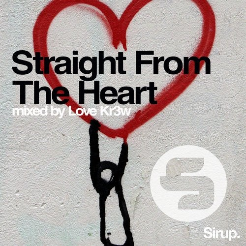 Cover for Love Kr3w - Straight From The Heart - 2019
