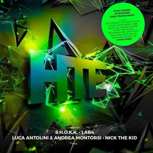 Cover for Nick The Kid, S.H.O.K.K., Luca Antolini & Andrea Montorsi, Lab4 - HTE Hard Trance Europe Vol. 2 - 2019